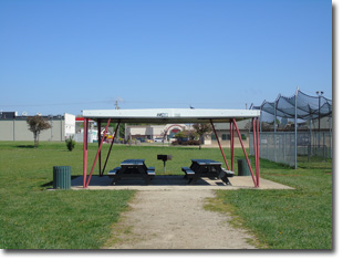 Pavilion #12 at Tri Township Park in Troy, Illinois Available for Rental for Large Groups in Illinois
