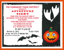 Enjoy Adventure Night at Tri-Township Park in Troy, Illinois - IL