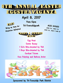 8th Annual Easter Eggstravaganza at Tri-Township Park