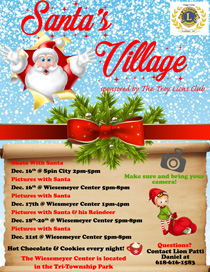 Santa's Village at the Wiesemeyer Center in Troy IL