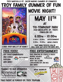 COCO Movie Night at Tri-Township Park