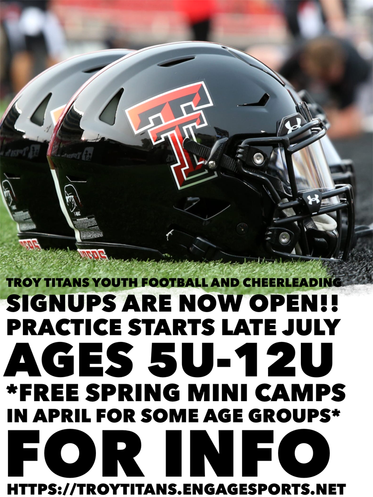2021 Troy Titans Signup